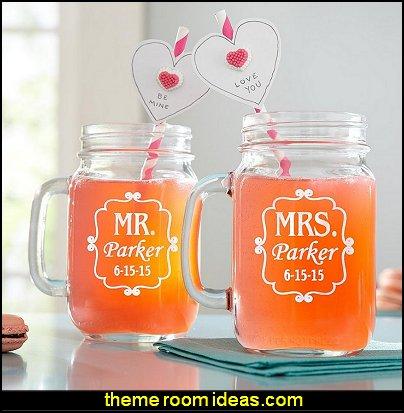 Perfect Pair Mason Drinking Jar