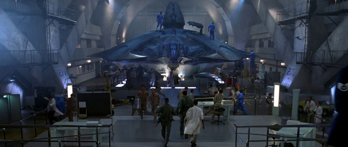 Independence Day Movie Ship
