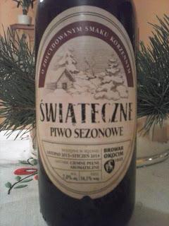 Świąteczne piwo od Okocimia