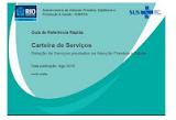 CARTEIRA DE SERVIÇOS