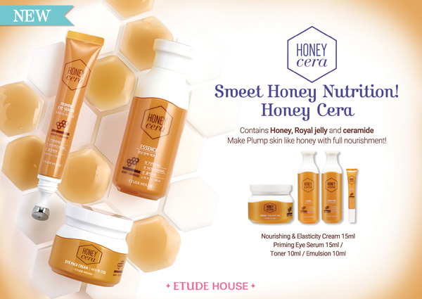 Etude House Honey Cera Line, korean skincare, etude house, skincare review, honey skincare, korean beauty, ceramide skincare