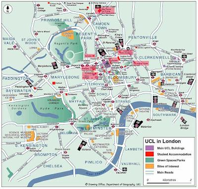 Mapa de Centro Francia Imagen