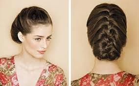 Penteados simples e sofisticados-trança embutida