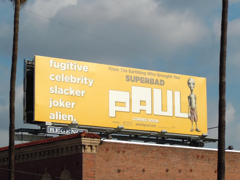 Paul film billboard