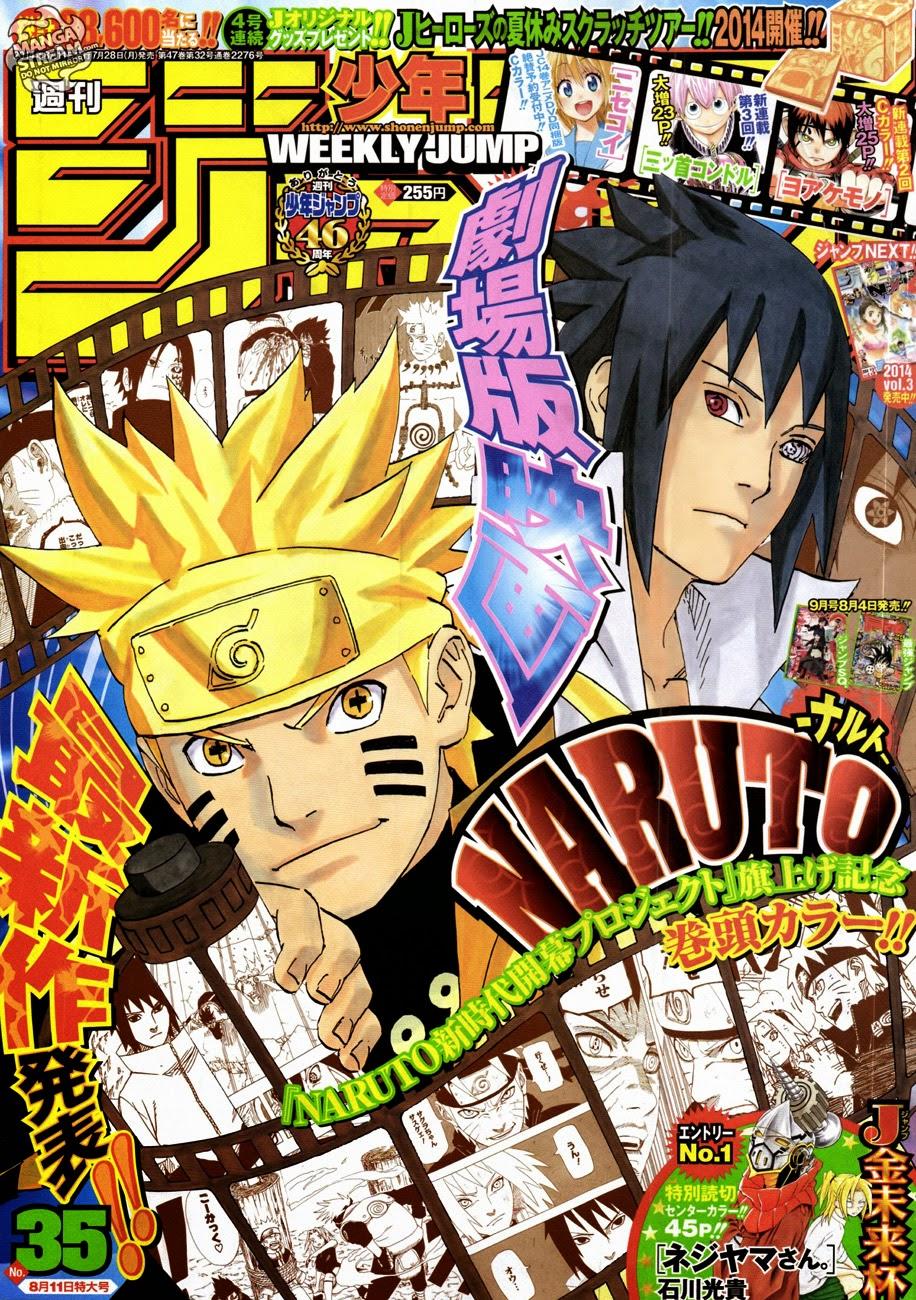 Naruto chap 686 Trang 1