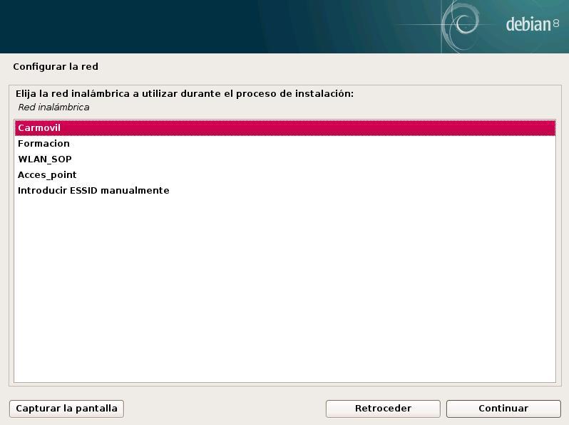 Instalar Debian desde una memoria USB Ingeniero