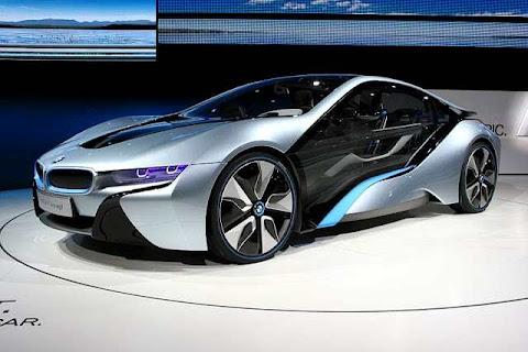 BMW i8, Konsep, Mobil, hibrida Efisien Dinamis