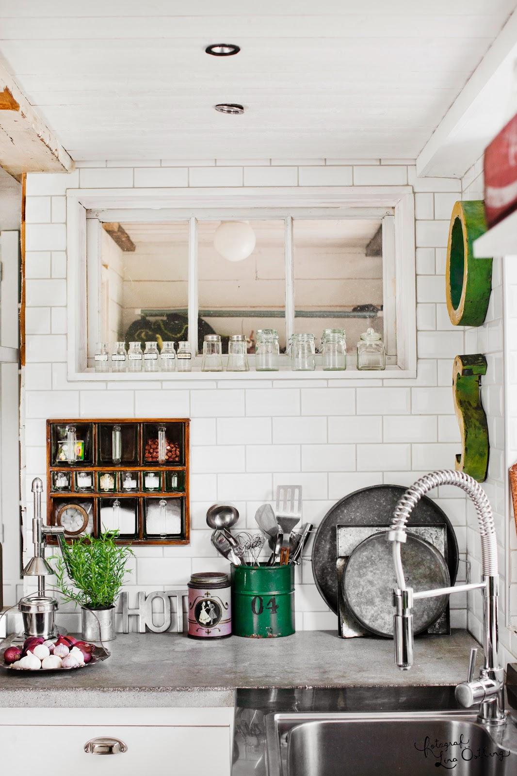 Vintage: fru vintage kök i hus & hem