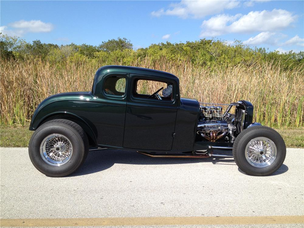 Biker excalibur ii 1932 ford 5 window custom coupe by for 1932 5 window ford coupe