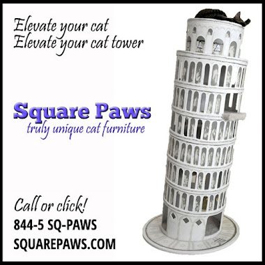 Square Paws--Truly Unique Cat Furniture!