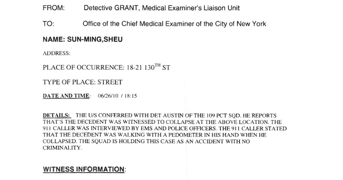 Medical Examiner Cover Letter