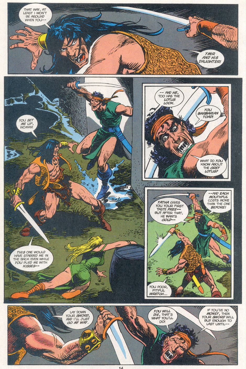 Conan the Barbarian (1970) Issue #273 #285 - English 11