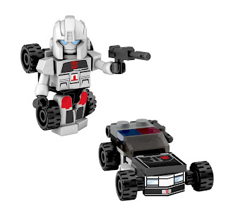 Hasbro Transformers Kre-O Micro Changers Combiners Series 2 - Streetwise (Protectobots)
