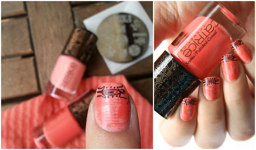 Aztec French Nails