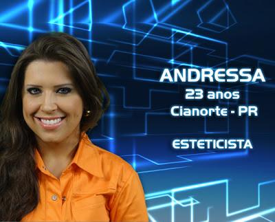 Lista de participantes do BBB 13 - Andressa - Cianorte PR - Flagras - Fotos