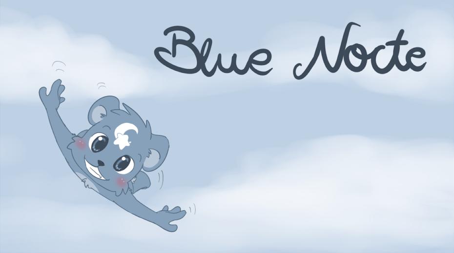 Blue nocte