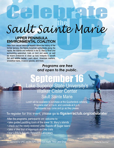 Celebrate the UP in Sault Ste. Marie Sept. 16