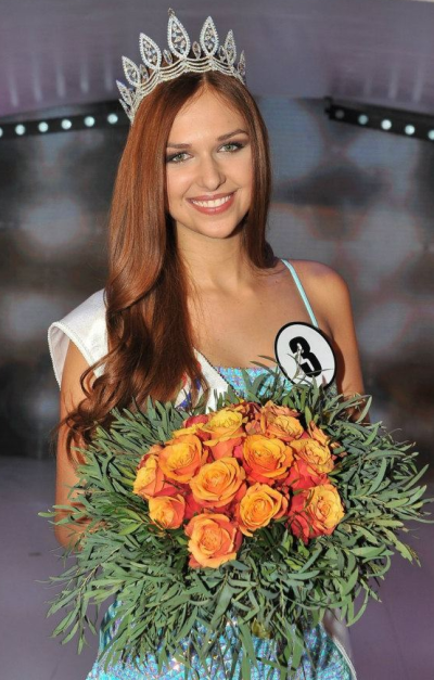 Ceska Miss Czech Republic 2013 winner Lucia Kovandova