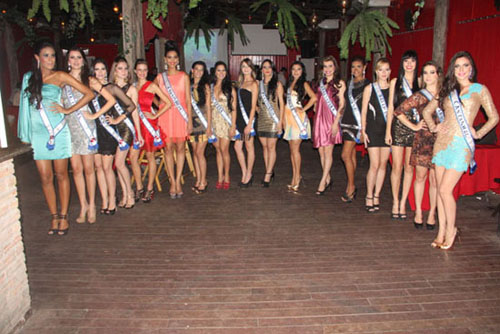 MISS PAR APRESENTA CANDIDATAS AO CONCURSO 2013  CONHEA TODAS