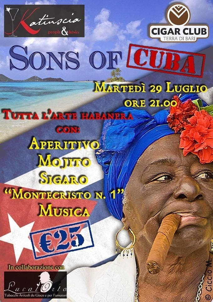 Evento Sons of Cuba