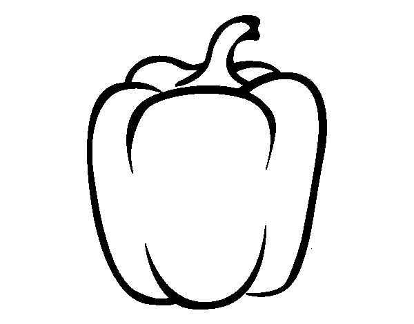 Chiles para dibujar - Imagui