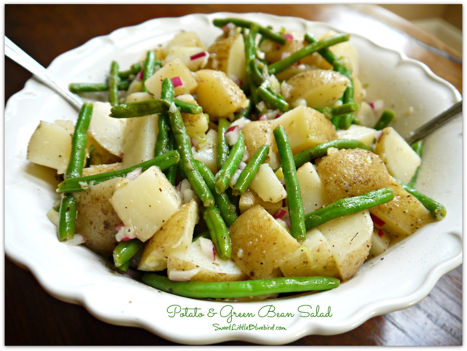 Spoonsfull Of Love: POTATO AND GREEN BEAN SALAD