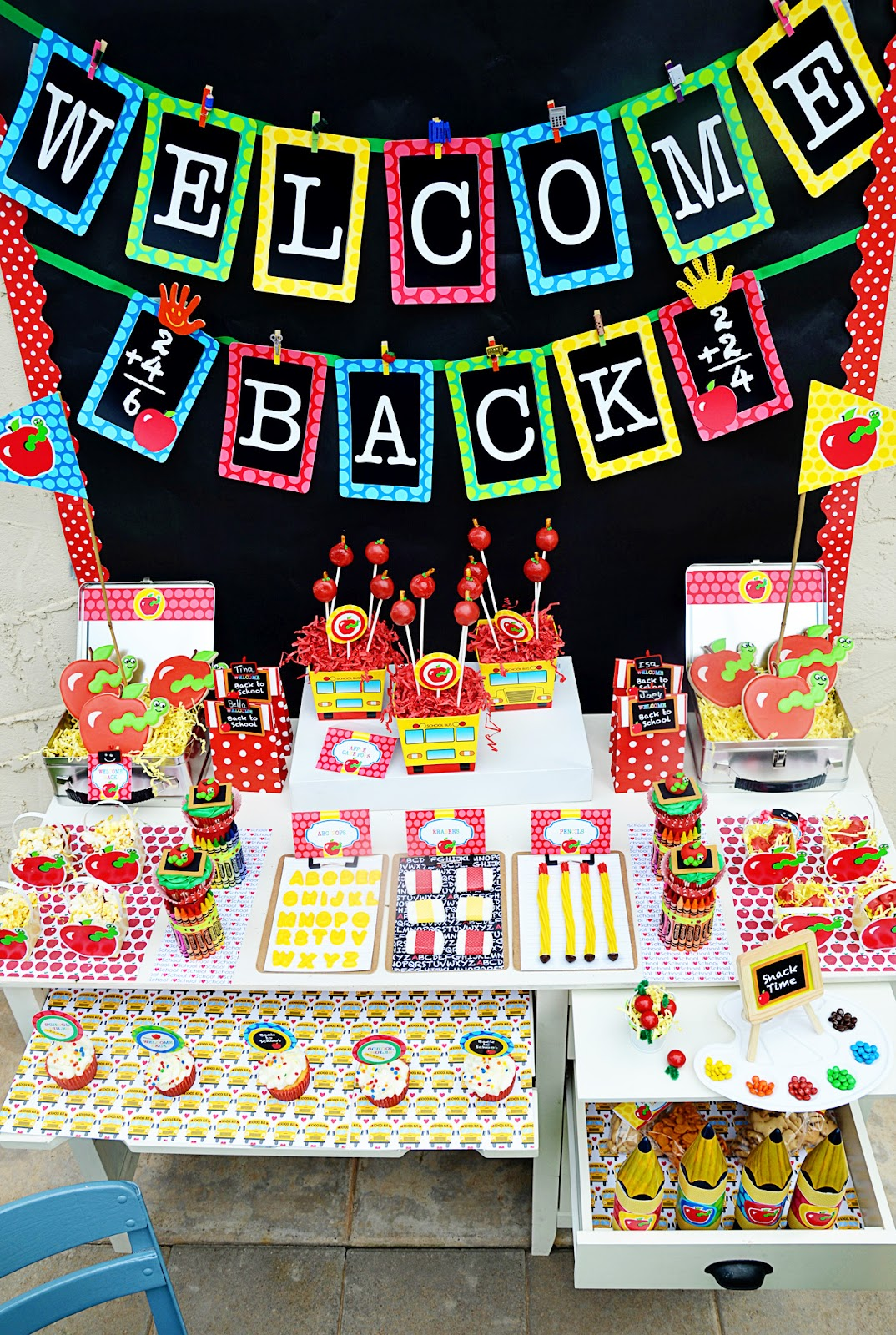 Classroom Party Ideas ~ Amanda s parties to go back school free printable