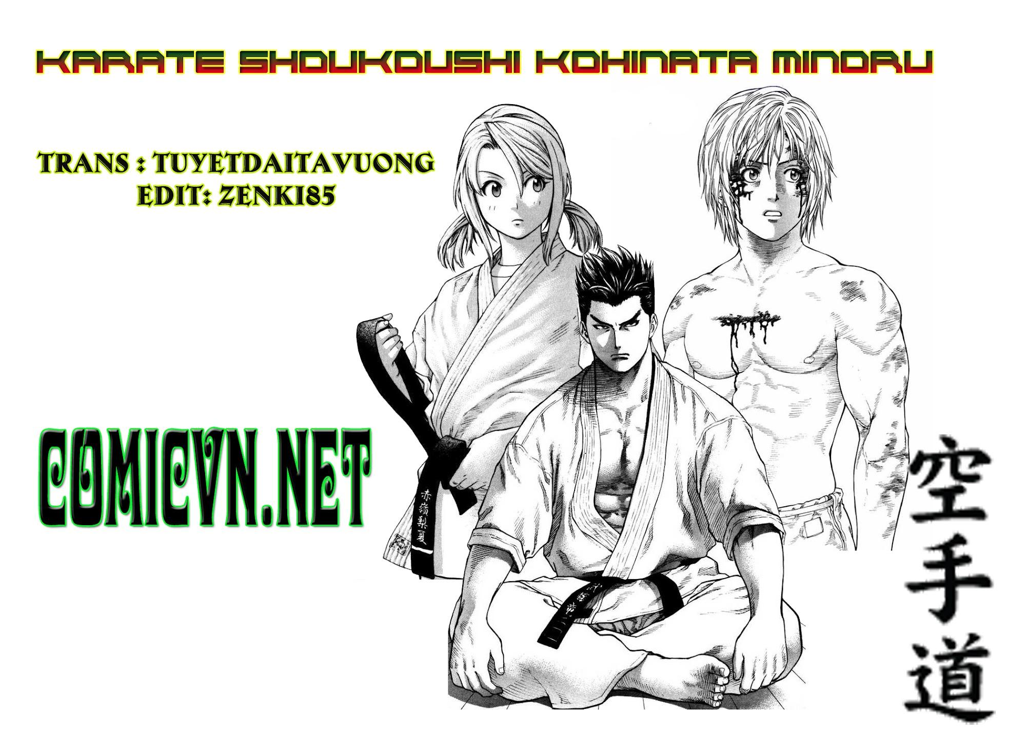 Karate Shoukoushi Kohinata Minoru chap 9 Trang 1