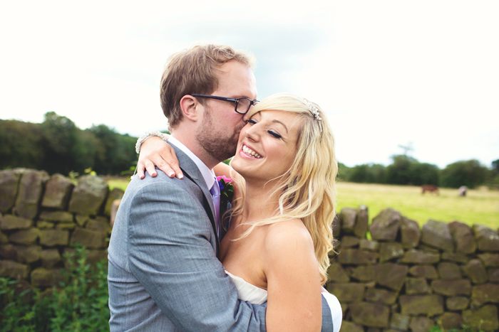 Paul & Becky. Creative, alternative wedding photography in Wirksworth by Hannah Millard.