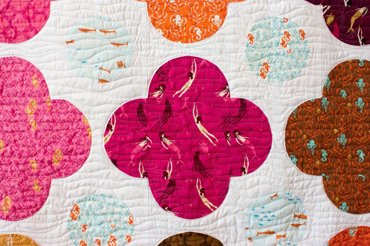 I Am Luna Sol Bubble Plus Quilt Pattern