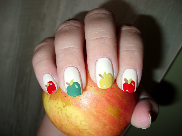 Long Nails Designed For Thanksgiving