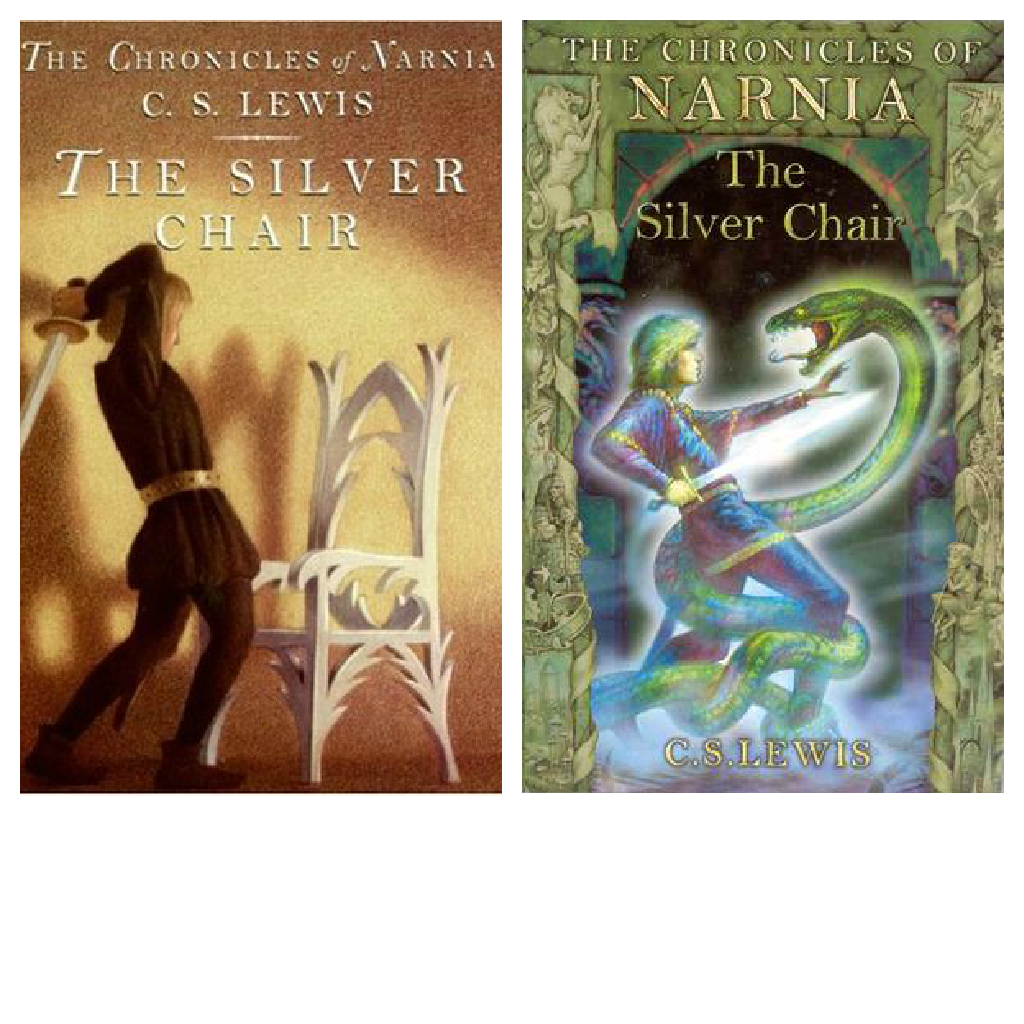 The silver chair illustrations - The First Is Rather Bland A Chair And It Being Hit But It Does Go With The Story And I Dig The Colors The Second Beats It However With It S Stunning