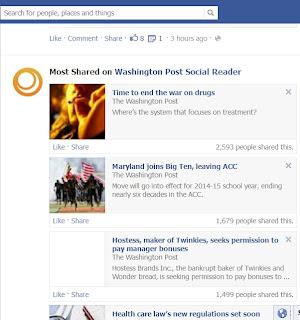 social reader facebook news