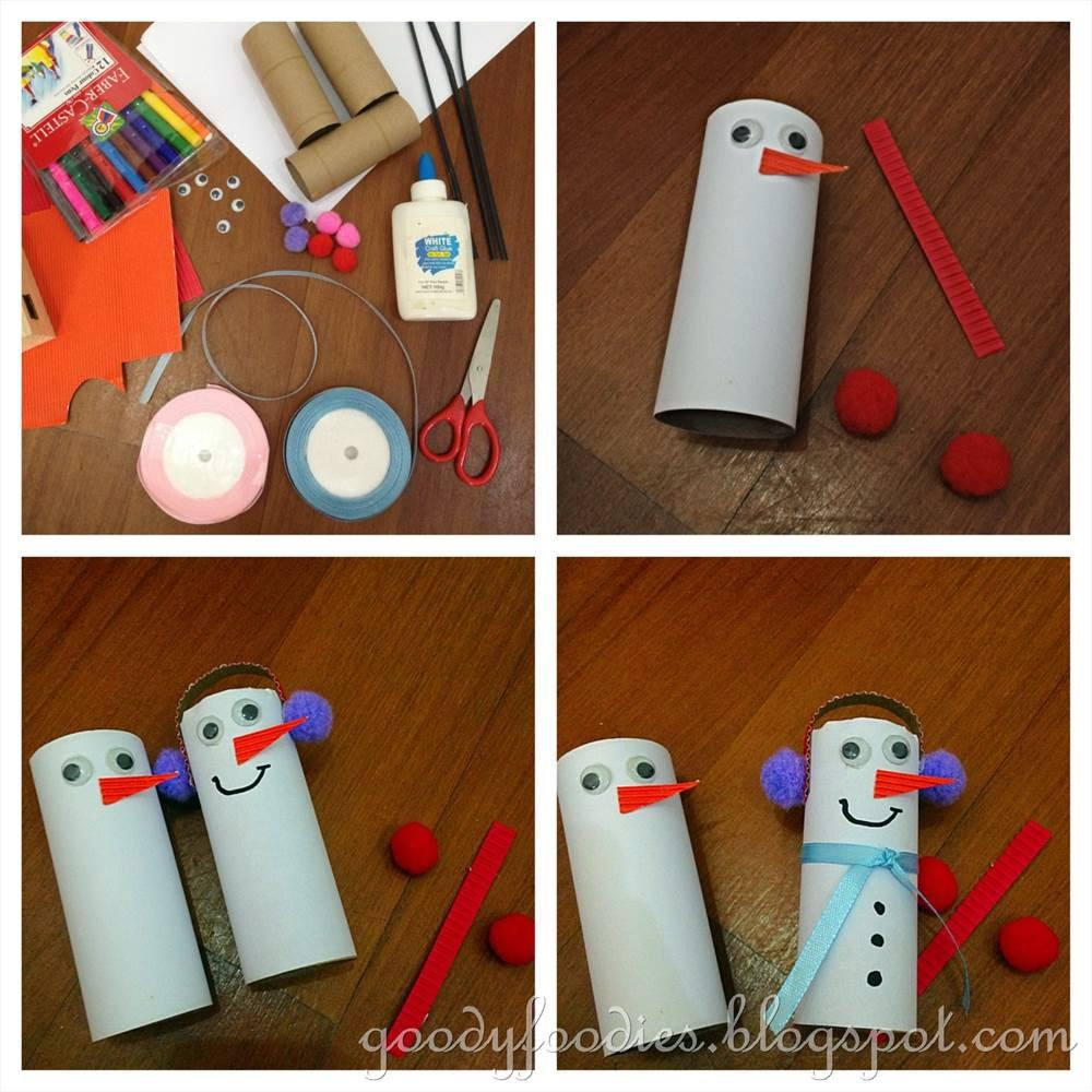 Goodyfoodies easy christmas crafts for kids how to make for How to make easy crafts step by step