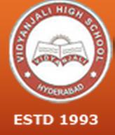 Vidyanjali High School Serilingampally Logo