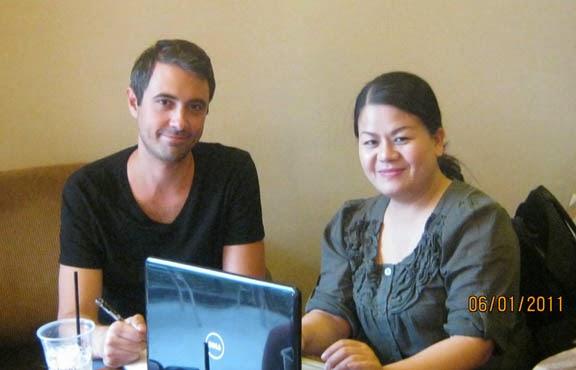 Reporter,Dustin Roasa & Thu Trâm