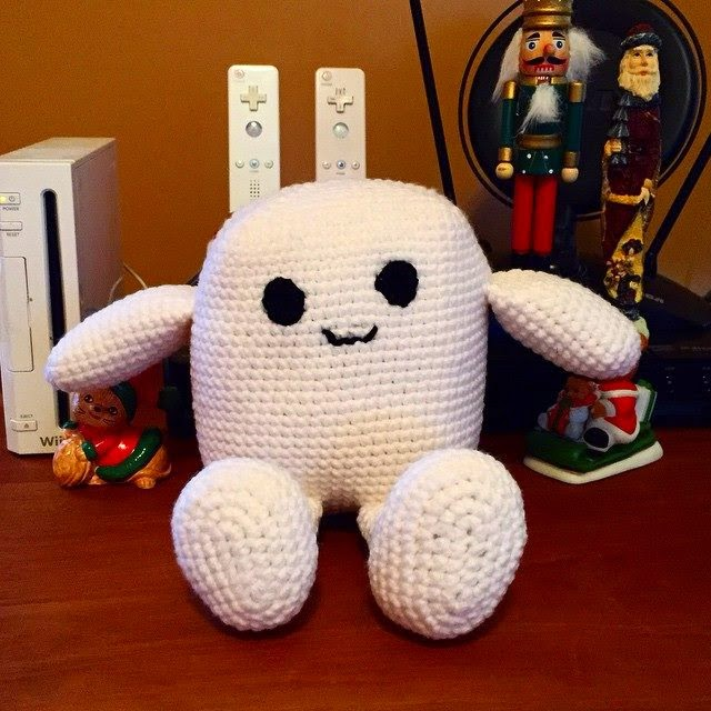 Life Sized Baby Adipose Plush inspired by Doctor Who