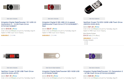 You can have a chance to buy up to 40% off  USB and more with amazon labor day sale.