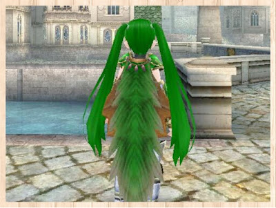 緑竜の外套 緑1