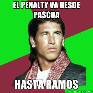 Penalty Sergio Ramos