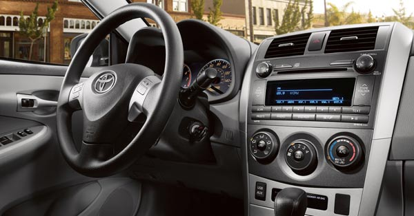 Top Cars Zone Toyota Corolla 2012 Interior Picture