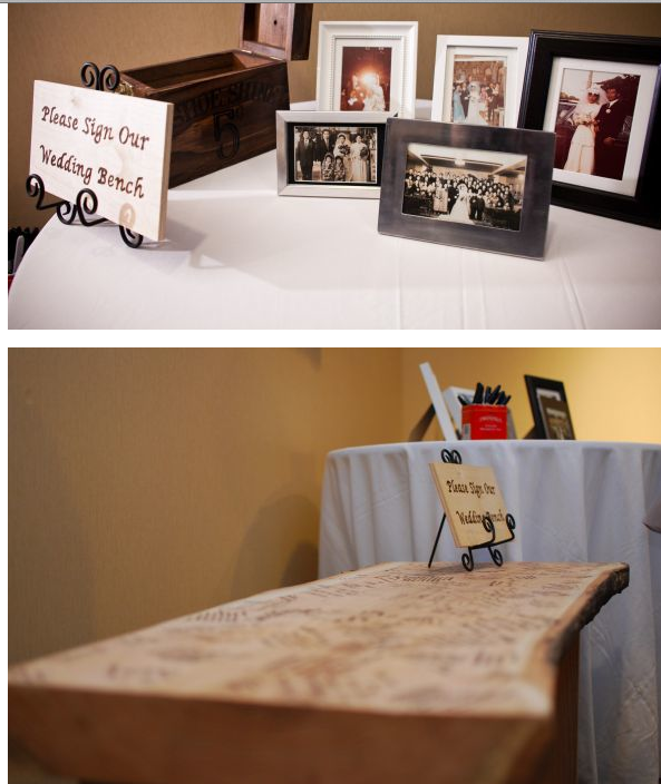 Try these artistic ideas Pick a piece of furniture such as a bench or