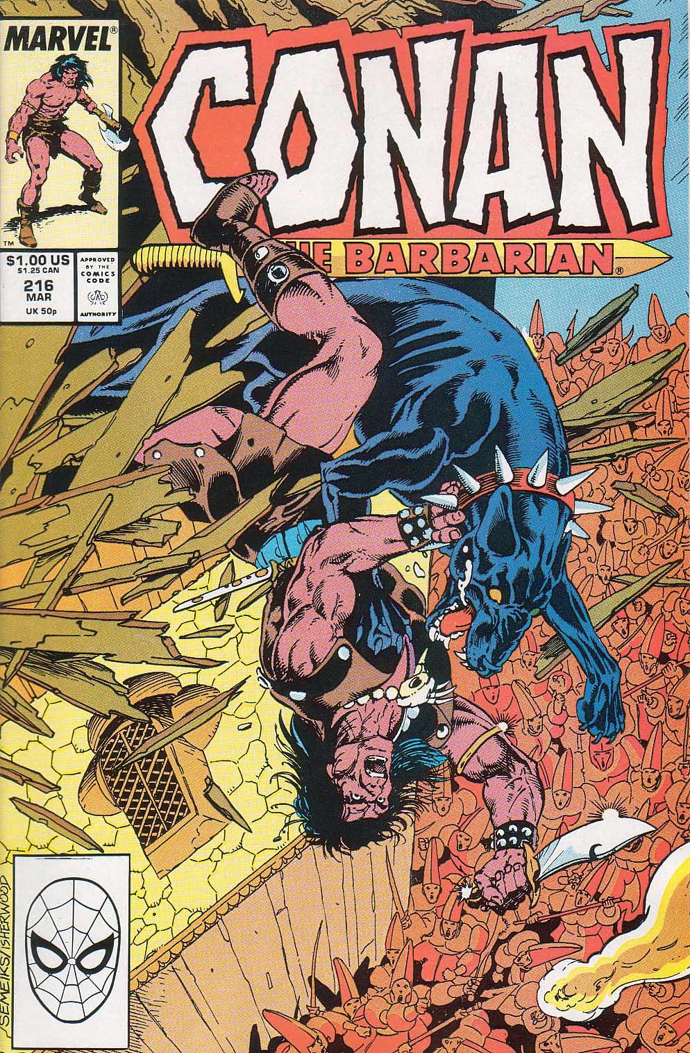 Conan the Barbarian (1970) Issue #216 #228 - English 1