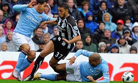Prediksi Skor Manchester City vs Newcastle United 30 Oktober 2014
