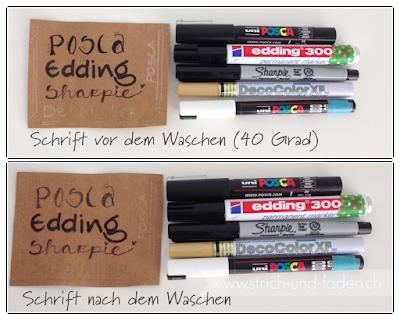 mit Strich und Faden | verschiedene Stifte auf SnapPap