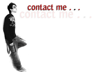 you may contact me