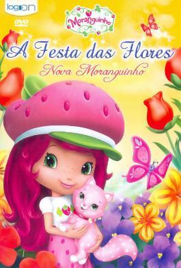 Capa do Moranguinho A Festa das Flores   AVI + RMVB Dubladodesenhos