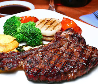 Steak Daging Bawang Bombay