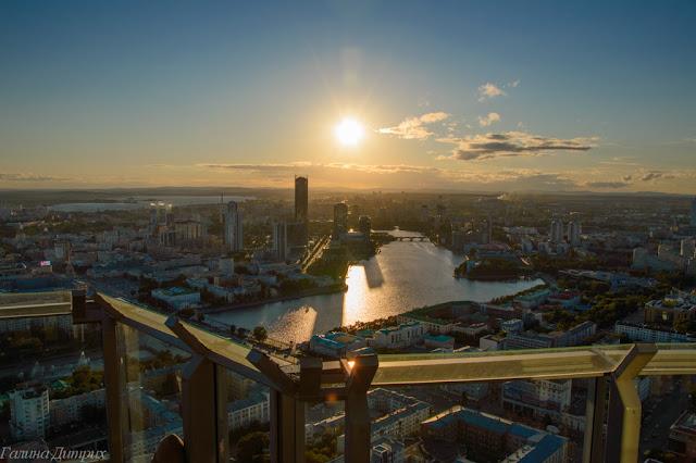 Путешествия: О жизни: Смотровая площадка Екатеринбург