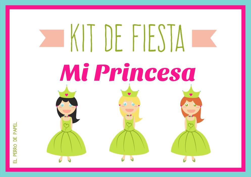 Kit de Fiesta Imprimible Infantil